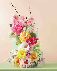 edible wedding cake decorations 9 wedding worthy cake decorating ideas martha stewart weddings