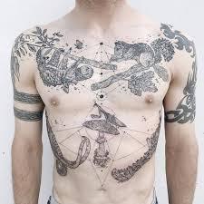 cross body tattoos by pony reinhardt 16 pics