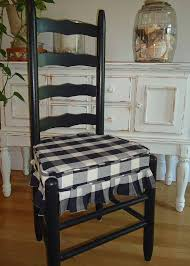 Antique Oak Ladder Back Chairs Mr And Mrs Vintage Ladder Back Chairs Black And Cream Buffalo