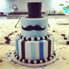 mustache birthday cake mustache cake top hat as top layer and solid blue with stache as