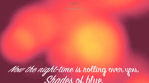 shades or orange rex smith shades of blue sooner or later youtube