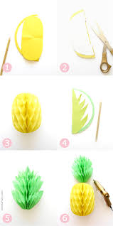party decorations diy pineapple honeycomb party decorations party ideas party
