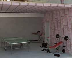 How To Insulate Basement Walls by Basement Walls The Home Depot Community