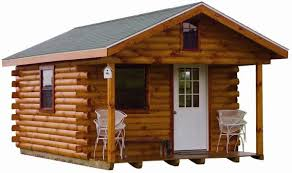 brilliant portable log home using double hung windows beside