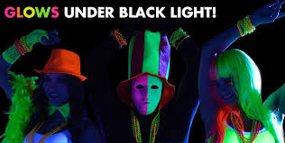 glow in the party supplies black light party supplies glow in the party ideas party city