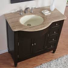Bathromm Vanities 38 U201d Perfecta Pa 5312 Bathroom Vanity Single Sink Cabinet Dark