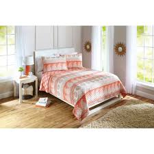 better homes and gardens paisley stripe quilt walmart com