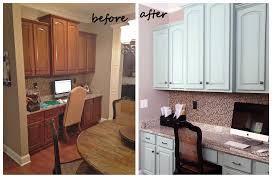 Kitchen Cabinet Desk by Painted Cabinets Nashville Tn Before And After Photos