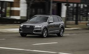 audi jeep 2016 2017 audi q7 in depth model review car and driver