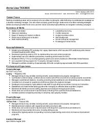 Property Manager Resume Sample by Example Resume Property Management Resume Template Property