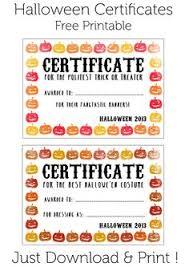 blank certificate halloween certificate template