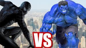 finger family nursery rhymes blue hulk black spiderman cartoons