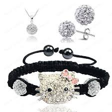 hello earrings hello fashion shamballa sets shamballa bracelet earrings