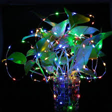 Starry String Lights On Copper Wire by Outdoor Solar Powered String Lights 120 Led Multi Color Fairy