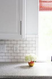 white tiles with grey grout black white subway tile with grout