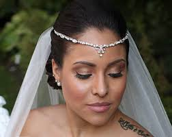 forehead headband gold gold bridal forehead band bridal headband