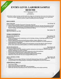 Sample Resume Laborer by Office Automation Clerk Cover Letter
