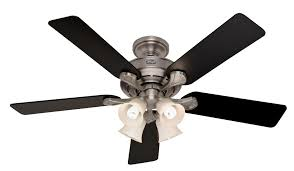 hunter 52 inch ceiling fan with light hunter 52 ceiling fan w light antique pewter hr 21337 ebay kit
