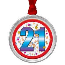 age 21 ornaments keepsake ornaments zazzle