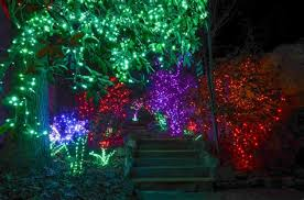 rock city u0027s enchanted garden of lights in lookout mountain