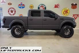lifted black ford f150 black 2016 ford f150 fx4 kevlar coated