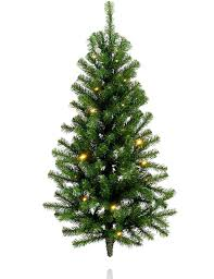 3ft pre lit wall mounted tree m s