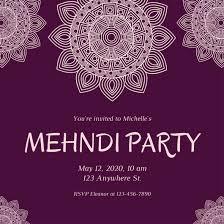 mehndi invitation mehndi cards design mehndi blue peacock business card with mehndi