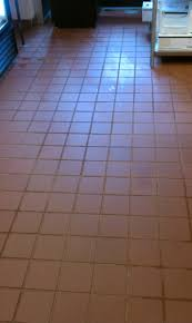 Restaurant Tile Vct And Ceramic Tile Restaurant In Conyers Before And After