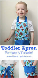easy toddler apron pattern and tutorial toddler apron apron and