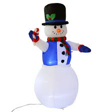 Outdoor Lighted Snowman Decorations by Gym Equipment Christmas Inflatable Snowman Decor Lighted Lawn Yard