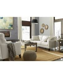 Mixing Leather And Fabric Sofas by Emilda Leather Sofa Created For Macy U0027s Furniture Macy U0027s