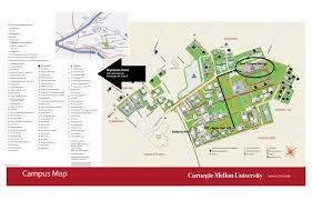 Pitt Campus Map Carnegie Mellon Campus Map My Blog