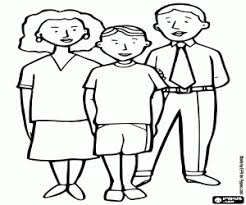 family coloring pages printable games