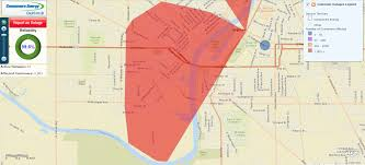 Michigan Power Outage Map by Full Restoration In Saginaw Area Power Outage Estimated At 1 30