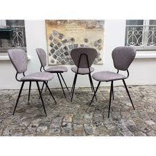 Grey Bistro Chairs Set Of 4 Grey Bistro Chairs 1950s Design Market