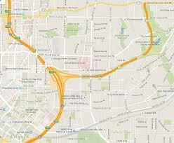 Atlanta Street Map Part I Jackson Street Bridge And The Freedom Parkway Kimberly U0027s