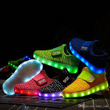 light up sole shoes light up led luminous kids shoes glowing casual fashion boy with new