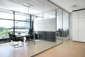 cloisons bureaux design d intérieur separation bureau cloison amovible de en verre