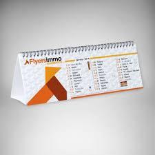 chevalet de bureau personnalisé imprimerie en ligne calendrier chevalet personnalisé à petit prix