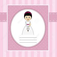 First Communion Invitations Cards First Communion Invitation Card Royalty Free Cliparts