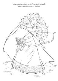 disney brave coloring pages cartoons and anime pinterest