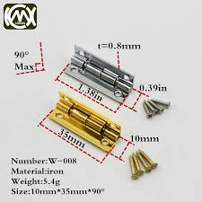 what size screws for cabinet hinges 20pcs 10 35mm vintage jewelry gift wine wood box hinge furniture