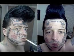 stupid face tattoos youtube