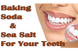 baking soda and sea salt for your teeth healthy mixer
