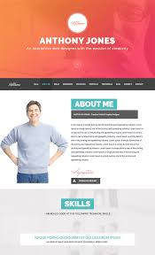 resume website template cv resume web templates tile html resume website template exle