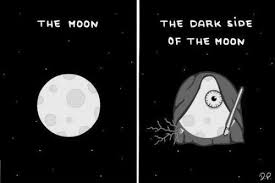 Moon Meme - the dark side of the moon star wars know your meme