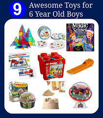 toys for six year boys