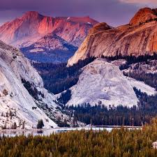 Three Brothers Landscaping by Best Yosemite Views Sunset