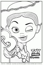 toy story woody jessie bullseyegif coloring pages free toy