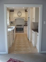 How To Design A Galley Kitchen by Remodelaholic Classically Beautiful Galley Kitchen Before And After
